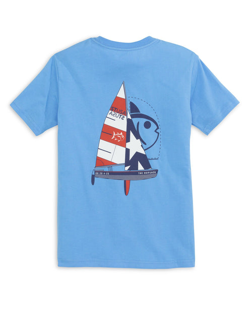 Kids ST USA Sailing T-Shirt | Southern Tide