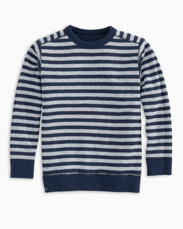 Kids Striped Reversible Upper Deck Pullover Sweater
