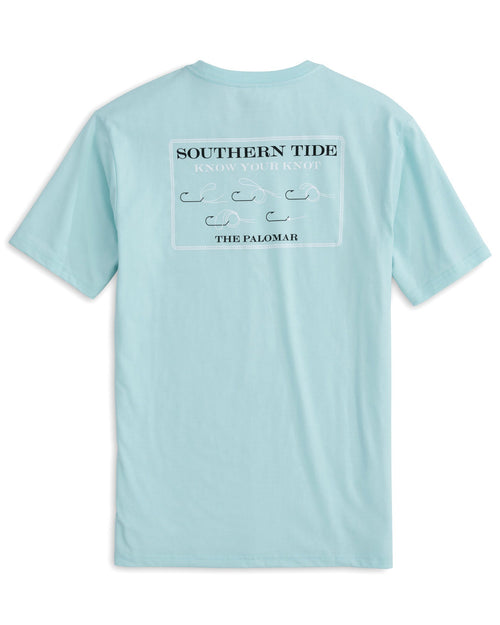 The back of the Men's Know Your Palomar Knot T-Shirt by Southern Tide