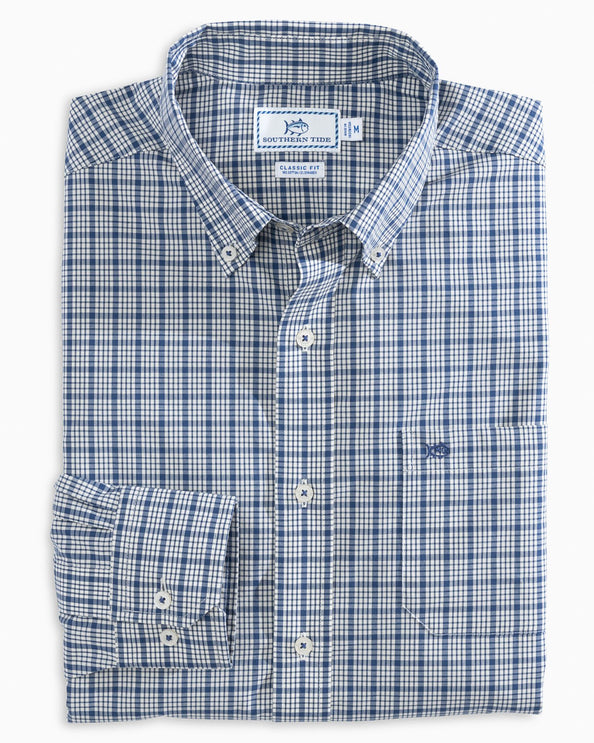 Kreisel Plaid Button Down Shirt