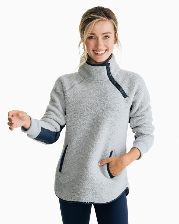 Laura Fleece Pullover Sweater