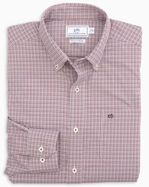 Lazeret Gingham Intercoastal Sport Shirt