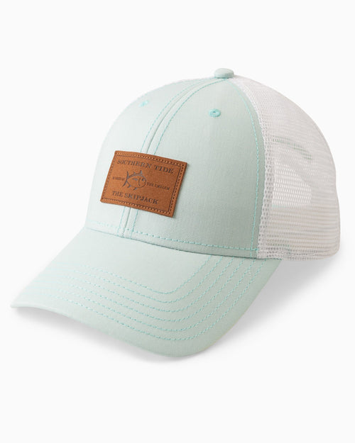 Leather Patch Trucker Hat | Southern Tide