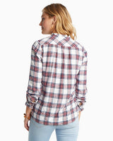 Leslie Wintertime Plaid Popover Shirt | Southern Tide