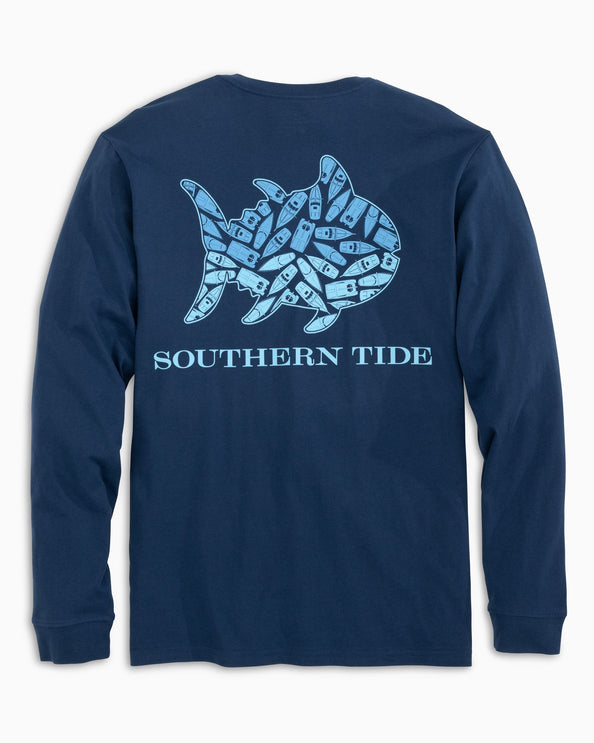 Long Sleeve Feelin Nauti Skipjack T-Shirt