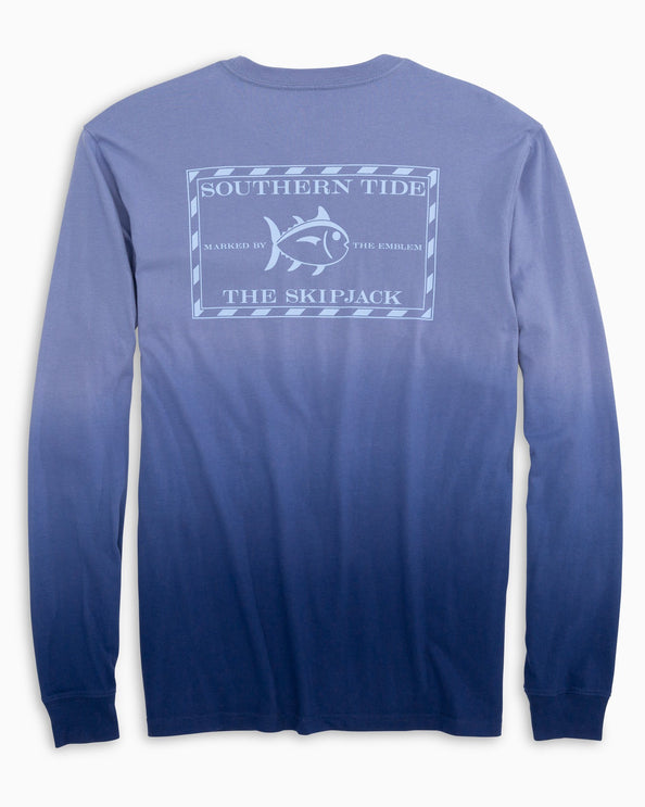 Long Sleeve Original Skipjack Dip Dyed T-Shirt