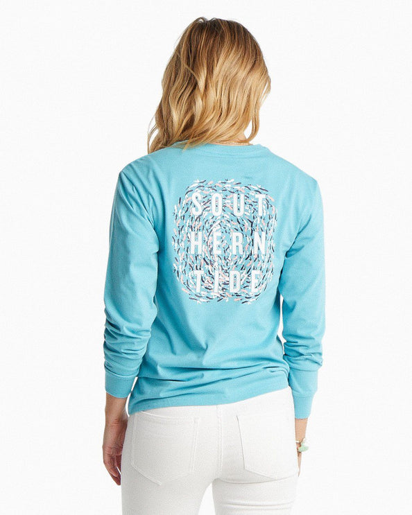 Long Sleeve School of Fish T-Shirt
