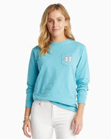 Long Sleeve School of Fish T-Shirt | Southern Tide