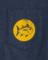 Long Sleeve Southern Marker 06 T-Shirt | Southern Tide