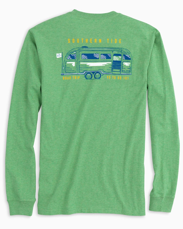 Long Sleeve ST Road Trip T-Shirt | Southern Tide
