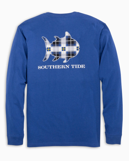 Long Sleeve Standing Stone Skipjack T-Shirt | Southern Tide