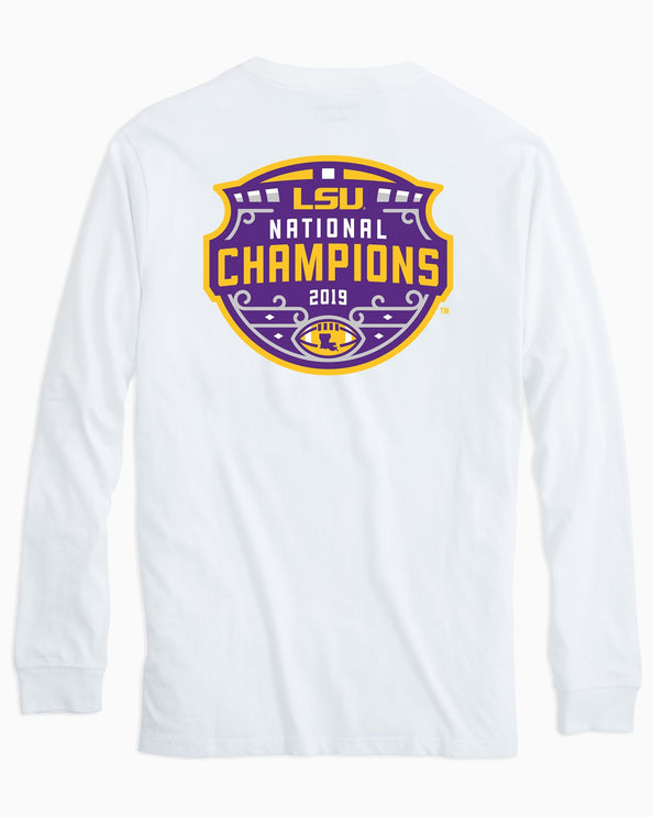 LSU Tigers National Champions Long Sleeve T-Shirt