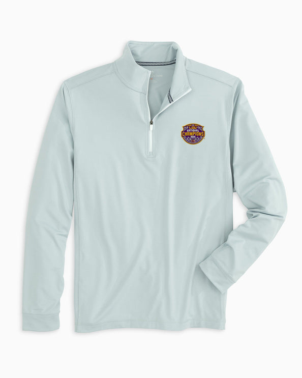 LSU Tigers National Champions Quarter Zip Pullover