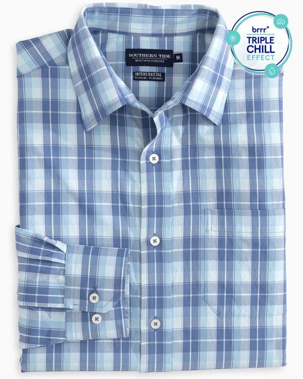 Mainstay Plaid brrr Intercoastal Performance Sport Shirt