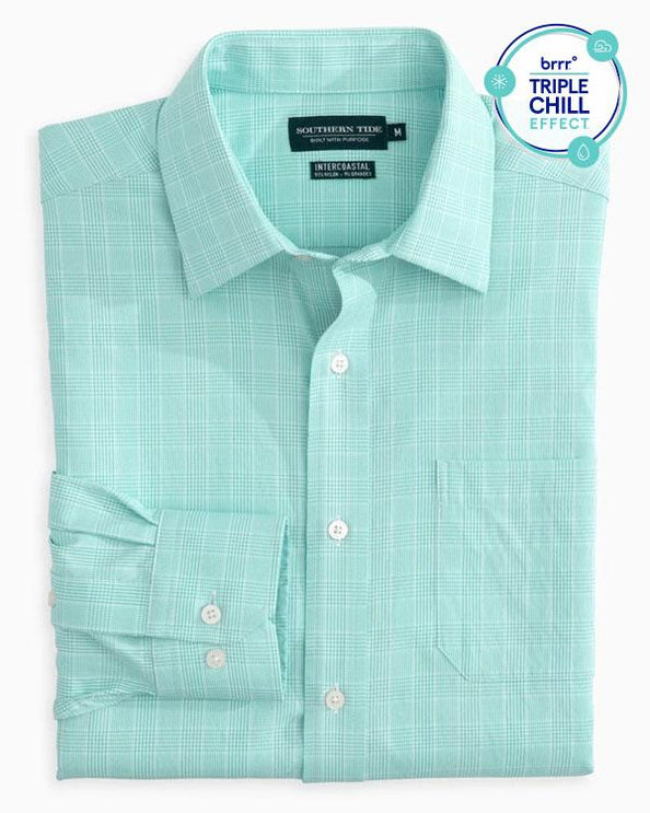 Marsh Plaid brrr Intercoastal Performance Sport Shirt