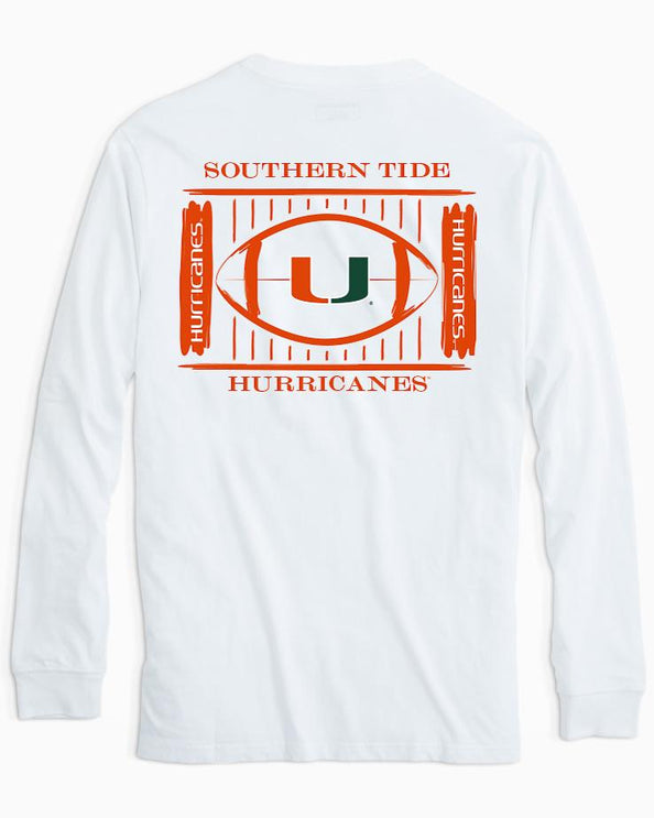 Miami Hurricanes Stadium Long Sleeve T-Shirt