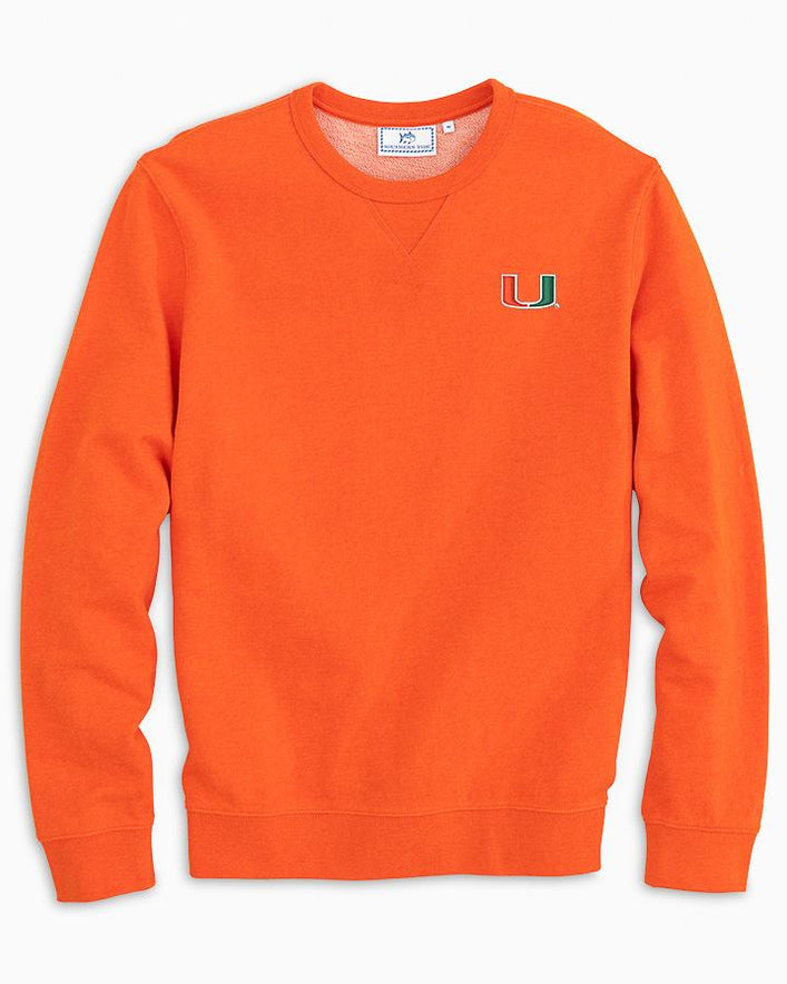 Miami Hurricanes Upper Deck Pullover Sweatshirt