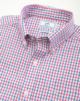 Outboard Tattersall brrr® Intercoastal Performance Sport Shirt | Southern Tide