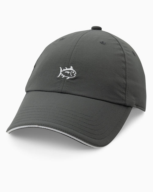 The front view of the Men's Mini Skipjack Performance Hat by Southern Tide