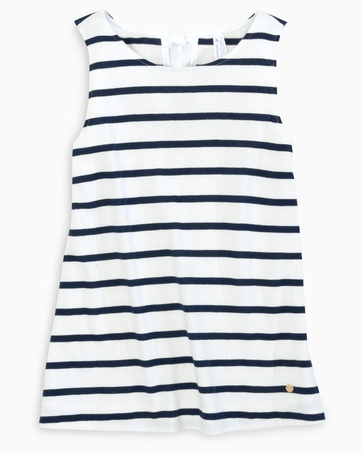 Mirable Striped Sleeveless Tank Top