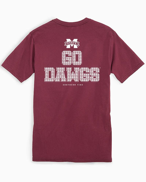 Mississippi State Chant Short Sleeve T-Shirt | Southern Tide
