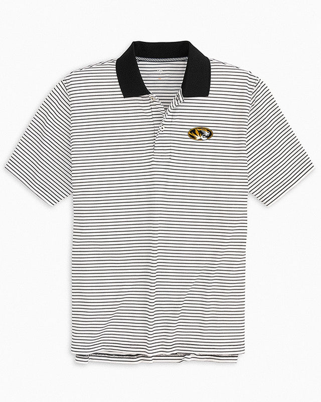 Missouri Tigers Pique Striped Polo Shirt | Southern Tide