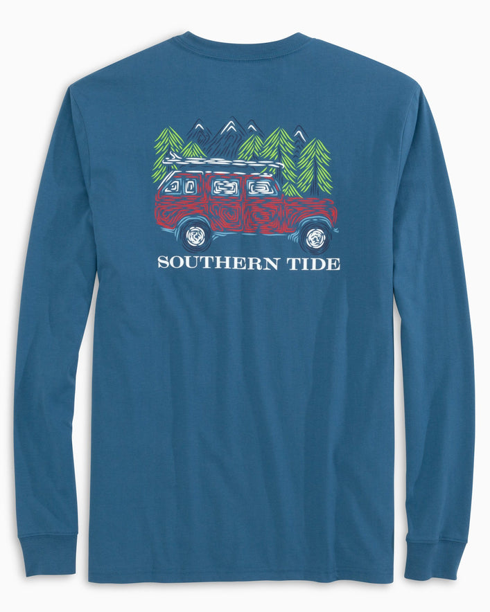 Mountain Truck Long Sleeve T-Shirt