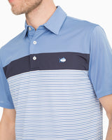 Multi Striped Performance Polo | Southern Tide