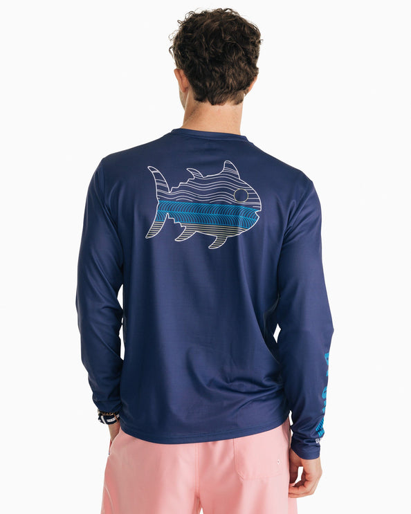 N2 The Skipjack Performance Long Sleeve T-Shirt