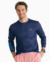 N2 The Skipjack Performance Long Sleeve T-Shirt | Southern Tide