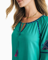 Natalie Embroidered Dress | Southern Tide
