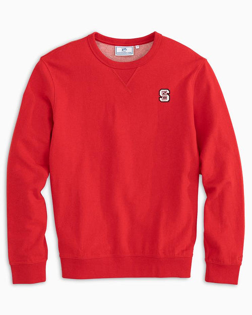 NC State Upper Deck Pullover Sweater | Southern Tide