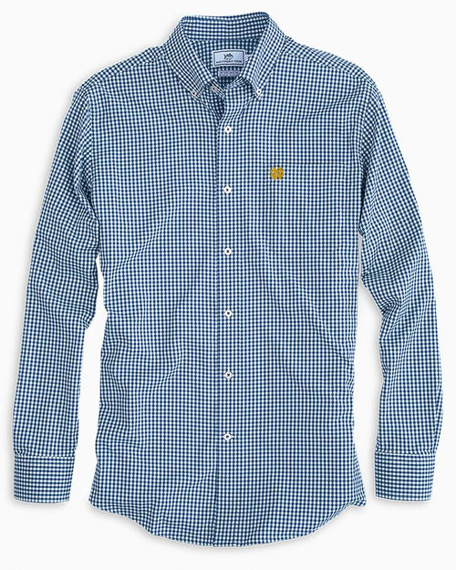 Notre Dame Fighting Irish Gingham Button Down Shirt | Southern Tide