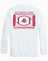 Ohio State Buckeyes Stadium Long Sleeve T-Shirt | Southern Tide