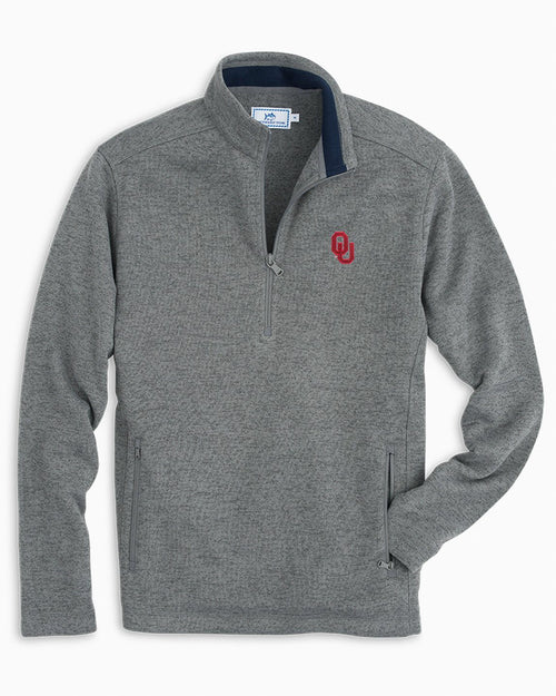 Oklahoma Sweater Fleece Quarter Zip | Southern Tide