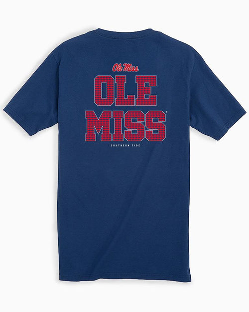 Ole Miss Chant Short Sleeve T-Shirt | Southern Tide