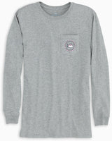 Long Sleeve Original Skipjack Circle T-Shirt | Southern Tide
