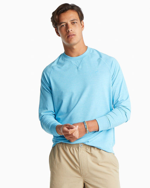 Outboard Performance Crew Neck Pullover | Southern Tide