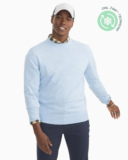 Pacific Crew Neck Pullover Sweater | Southern Tide