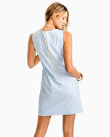 Paislee Blue Seersucker Shift Dress | Southern Tide