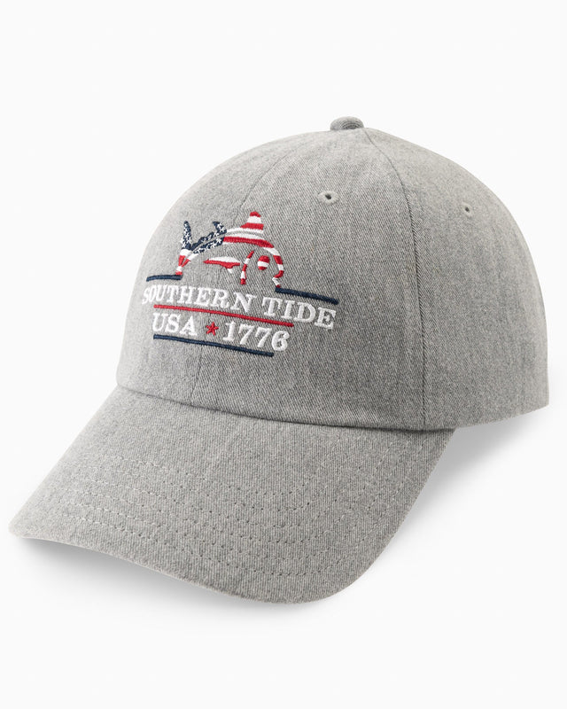 Patriots Embroidered Heather Hat | Southern Tide