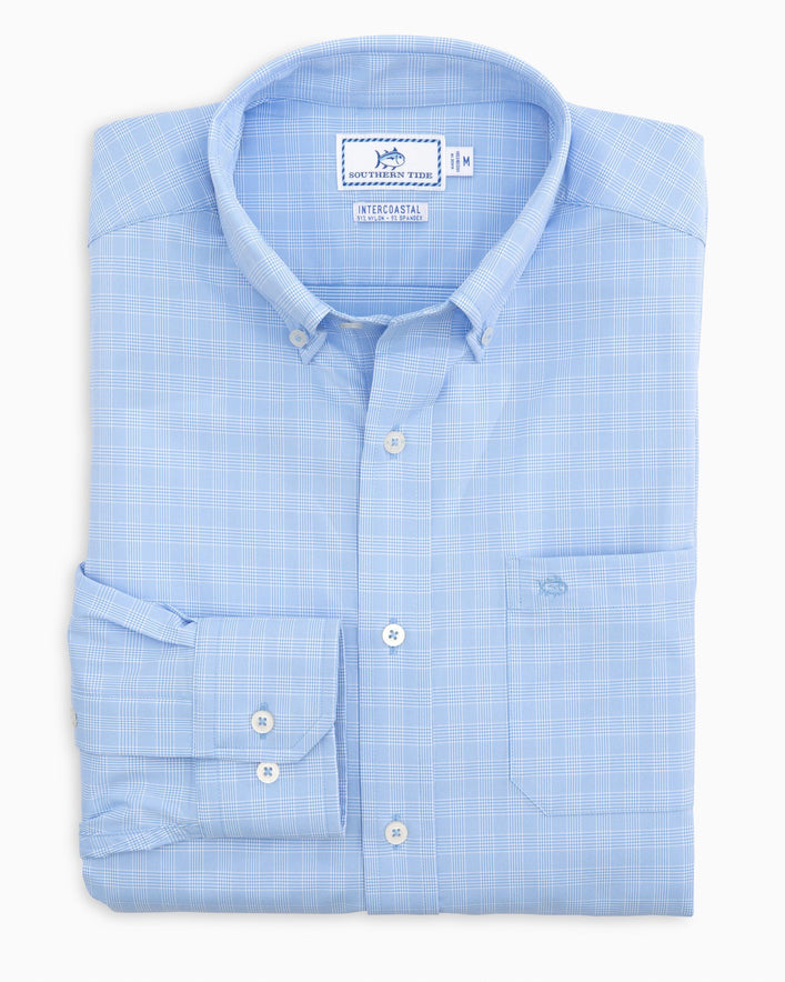Prince of Wales Intercoastal Sport Shirt