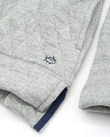 Heathered Quilted Pullover | Southern Tide