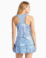 Racerback Patterned Active Tank | Southern Tide