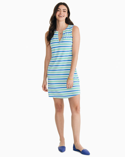Robyn Sleeveless Performance Dress | Southern Tide