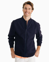 Rouge Wave Bomber Jacket | Southern Tide