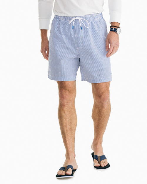 Seersucker Swim Trunk | Southern Tide