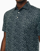 Driver Printed Performance Polo Shirt | Southern Tide