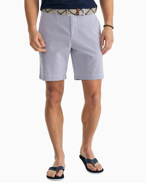 Skipjack 9 Inch Striped Short | Southern Tide