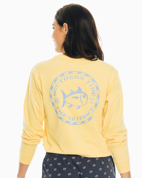 Skipjack Circle Long Sleeve T-Shirt | Southern Tide